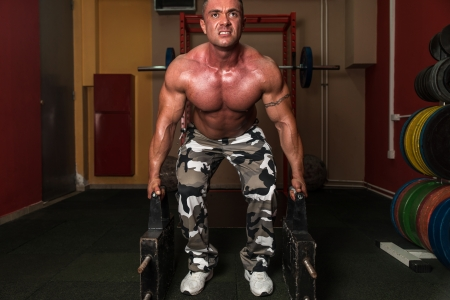Deadlift Heavy Weights photo