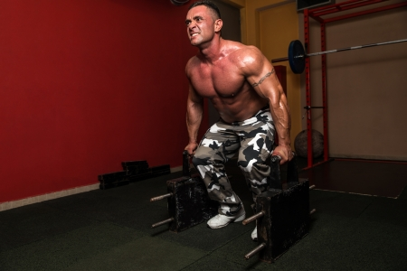 Heavy Weight Deadlift photo