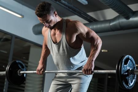 body torso: Pain and Gain Stock Photo
