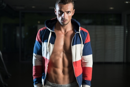 Man With Physically Fit Body Stock Photo