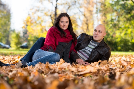 Autumn Couple Portraits photo