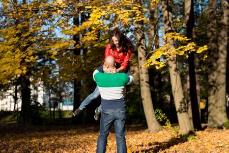 Man Spinning Woman photo