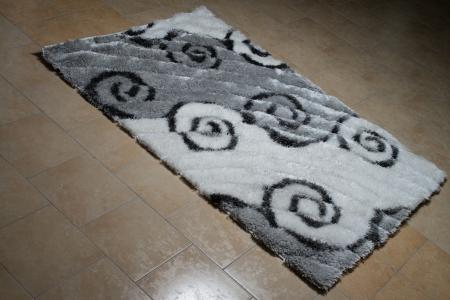 Pattern Carpet Lying On Floor Stock Photo - 24843757