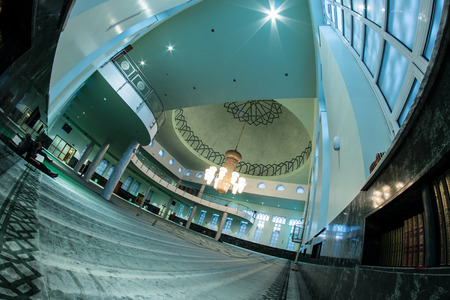 sarajevo: Mosque In Sarajevo Interior Editorial