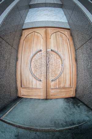 Door To A Mosque In Sarajevo