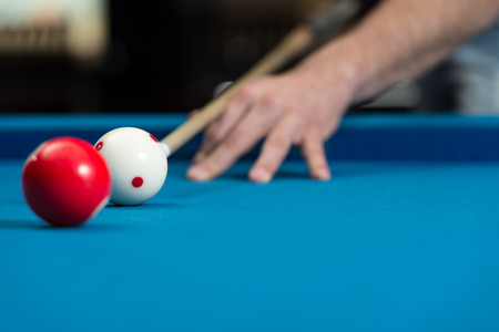 pool hall: Taking Aim To Shoot The One Ball