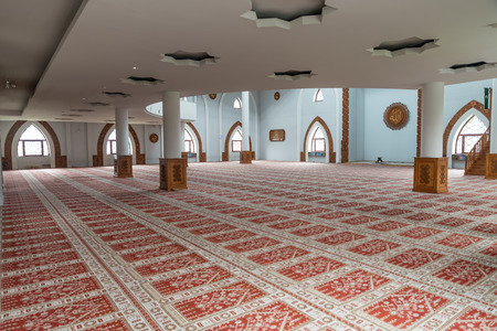 Mosque Istiqlal Interior - Sarajevo, Bosnia and Herzegovina