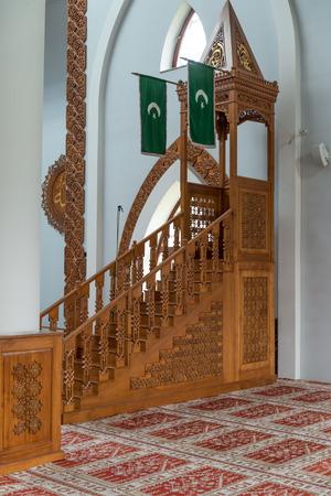 sarajevo: Mosque Istiqlal Interior - Sarajevo, Bosnia and Herzegovina