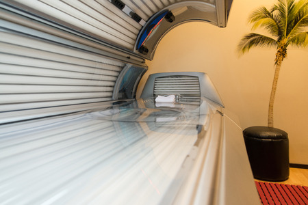 Tanning Bed Solarium At Healthy Club Spa