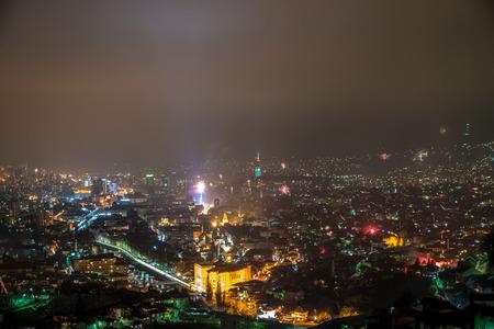 sarajevo: Sarajevo Fireworks Display