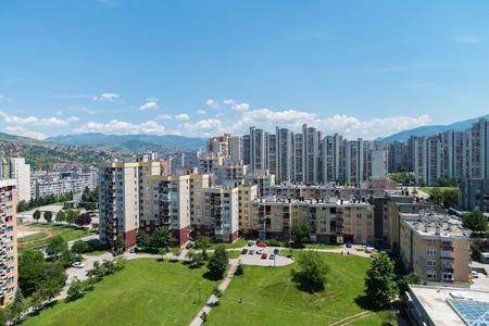 sarajevo: Sarajevo Cityscape - Alipasino Polje