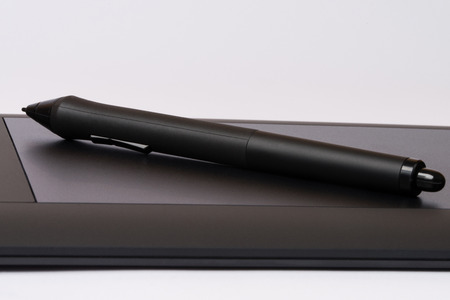 Drawing Tablet With Stylus photo
