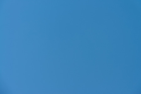 bluey: An Image Of A Truly Blue Sky Without Clouds