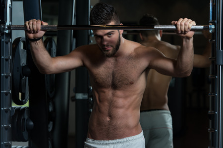 hairy male: Resting Between Sets And Exercises