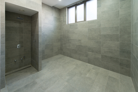 closed club: Modern Interior Of A Shower Room In Fitness Center Gym