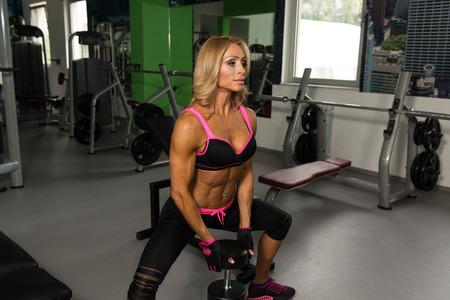Mature ass posing
