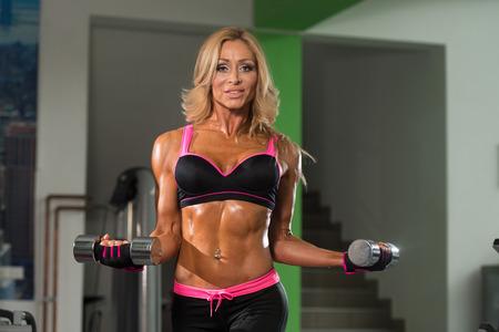 Mature female fitness models