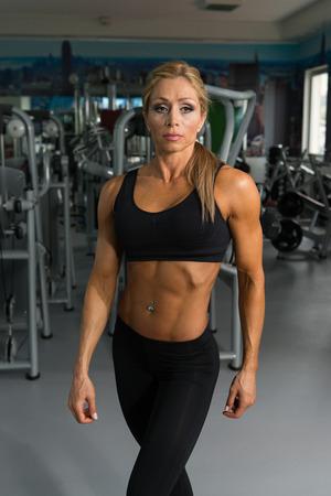 Mature fitness model pic