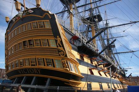 HMS Victory Stockfoto - 73978986