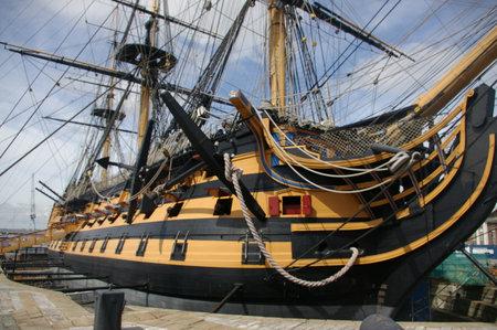 HMS Victory Editorial