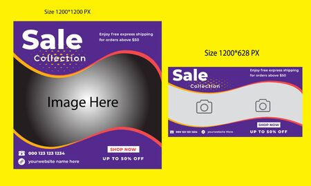 `Sale Social Media Post Or Ads Template