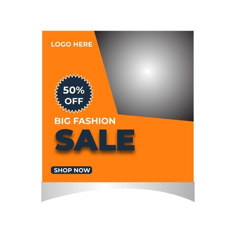 Fashion Sale Social Media Or  Post Template