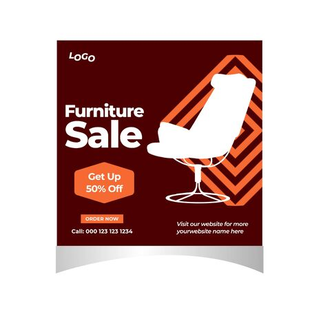 Social Media furniture sale template