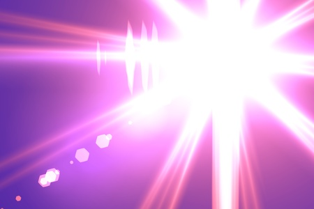 Lens flare abstract background  Asymmetric light rays Stock Photo - 12830915