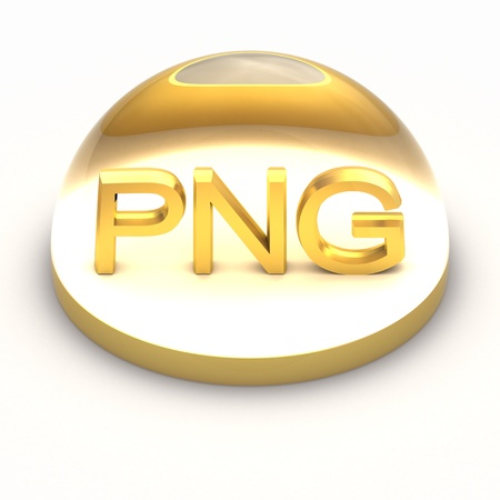 png: 3D Style file format icon over white background - PNG