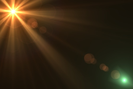 flare: Lens flare abstract background  Asymmetric light rays