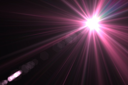 beam of light: Lens flare abstract background  Asymmetric light rays