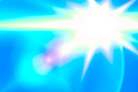 Lens flare abstract background  Asymmetric light rays Stock Photo - 13298719