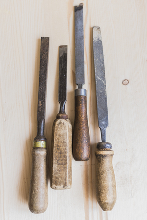 Vintage files and chisels 7