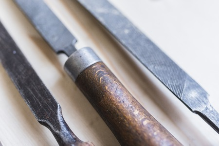 Vintage files and chisels 8