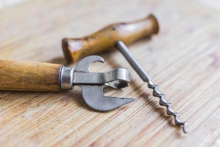 Beer bottle opener and corkscrew
