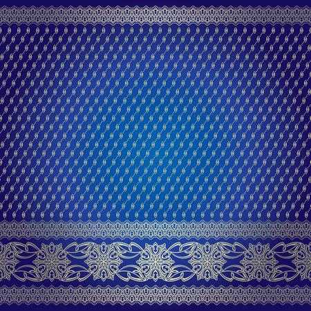Indian ornamental background pattern Ilustracja