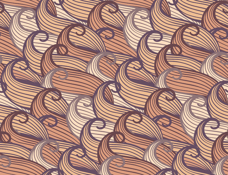 waves pattern: Seamless background pattern with abstract waves  Vector illuctration