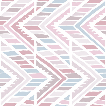bohemian: Abstract seamless background pattern in pastel colors illustration