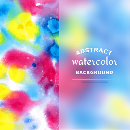 frosted: Abstract Watercolor Background. Frosted Glass. Vector Illustration. Illustration