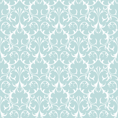 Decorative Seamless Background Pattern. Damask Antique Wallpaper.