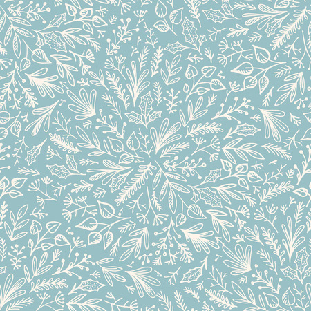Seamless floral background pattern. Decorative backdrop for fabric, textile, wrapping paper, card, invitation, wallpaper, web design, wrapping paper and print