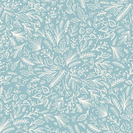 Seamless floral patroon. Decoratieve achtergrond voor stof, textiel, inpakpapier, kaart, uitnodiging, behang, webdesign, inpakpapier en afdrukken