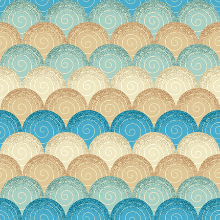 web backdrop: Seamless abstract wave background pattern. Decorative backdrop for fabric, textile, wrapping paper, card, invitation, wallpaper, web design