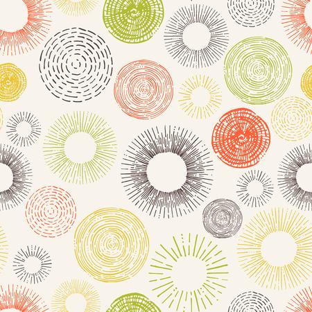 web backdrop: Seamless stylish  circle hand drawn pattern. Decorative backdrop for fabric, textile, wrapping paper, card, invitation, wallpaper, web design.