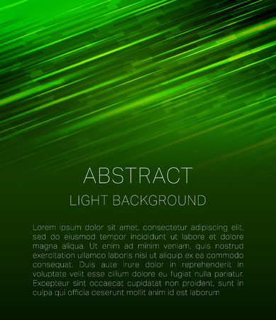 tehnology: Abstract light geometric tehnology background with place for text Illustration