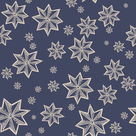 star pattern: Star seamless pattern
