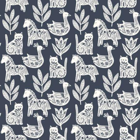 Scandi Animals Pattern