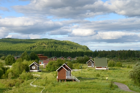 mongolia: Inner Mongolia holiday resort Editorial