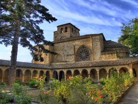 cloister of the church of San Pedro de la Rua photo