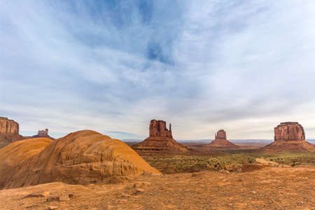 View of Monument Valley in Utah, USA